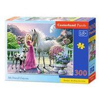 Puzzle, PUZZLE 300 ELEMENTÓW MY FRIEND UNICORN B-030088. Darmowy odbiór w niemal 100 księgarniach!