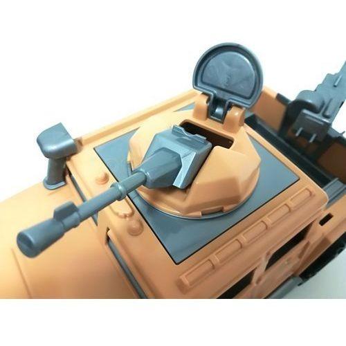 Karabiny dla dzieci, Auto pick-up obrońca z 2 karabinami polesie 63427