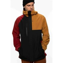 kurtka 686 - Mns Glcr Gore-Tex Core Jacket Golden Brown Clrblk (GLDB) rozmiar: M