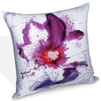 Poszewki, Albani Poszewka na poduszkę-jasiek Loja biały + fioletowy, 45 x 45 cm