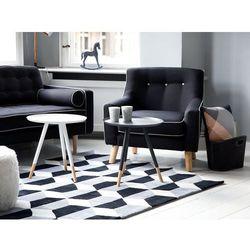 Fotel ciemnoszary - wypoczynkowy - do salonu - tapicerowany - HJO