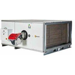 Nagrzewnica stacjonarna olejowa lub gazowa SF 95/H - wersja pozioma - moc 92 kW