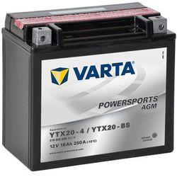 Akumulator motocyklowy Varta YTX20-BS 18Ah 250A