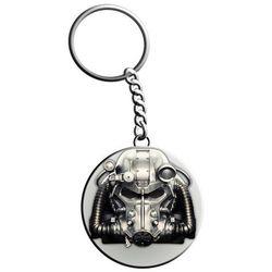 Brelok GOOD LOOT Fallout T-60 Keychain