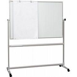 Tablica obrotowa 2x3 suchościeralno-magnetyczna lakierowana 170x100cm + magnetyczne szachy edukacyjne
