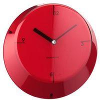 Zegary, Bugatti - Glamour zegar ścienny, czerwony