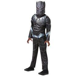Kostium Czarna Pantera Deluxe dla chłopca - L