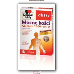 Doppelherz Aktiv Mocne kości Calcium1500 + Vitamina D3 60 tabletek