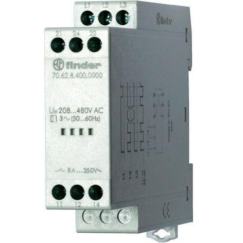 Przekaźniki, Przekaźnik kontroli napięcia, zaniku, rotacji i niskiej wartości faz 70.62.8.400.0000
