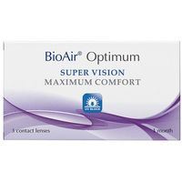 Soczewki kontaktowe, BioAir OPTIMUM 3 szt.