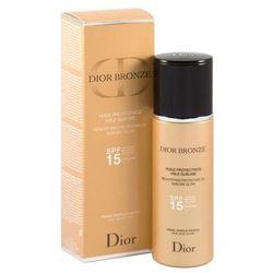 Dior Dior Bronze Dior Bronze rozświetlający ochronny olejek do opalania SPF 15 (Face, Body&Hair) 125 ml