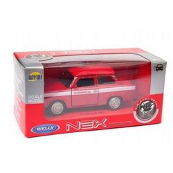 Pojazd Welly Trabant Straż