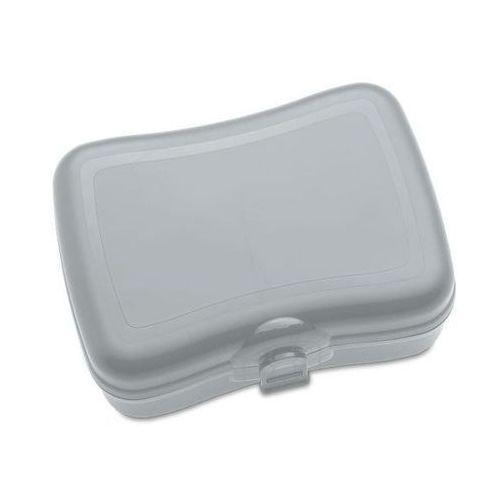 Śniadaniówki i bidony, Pudełko na lunch BASIC, śniadaniówka - kolor szary, KOZIOL