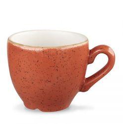 Filiżanka espresso 100 ml, pomarańczowa | CHURCHILL, Stonecast Spiced Orange
