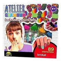 Pozostałe artykuły szkolne, Atelier Glamour Brokatowe paznokcie - DARMOWA DOSTAWA OD 199 ZŁ!!!