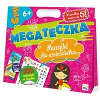 Kolorowanki, Mega Teczka. Mazajki dla sześciolatka MAC