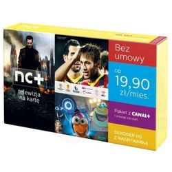 NC + TELEWIZJA NA KARTĘ Start + BOX ADB-5800SX # REC 80 GB HDD