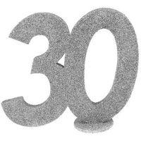 Pozostałe wyposażenie domu, Dekoracja stołu Trzydziestka srerbna 30-stka - 1 szt.
