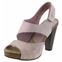 Sandały Nessi 42103 - Różowe 111+ST