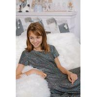 Sukienki dziecięce, Sukienka dla dziewczynki- czarna 4K3909 Oferta ważna tylko do 2031-09-27