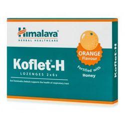 Himalaya Koflet-H pastylki na kaszel smak pomarańczowy 12 tabletek