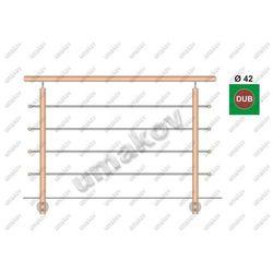 Drewno DUB (OAK) BK- rovné, v=90cm, L=150cm