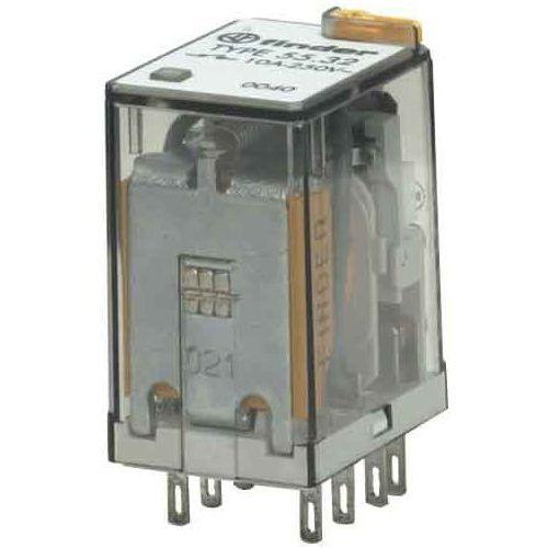 Przekaźniki, Przekaźnik przemysłowy 2 CO (DPDT) 12VAC 55.32.8.012.0040