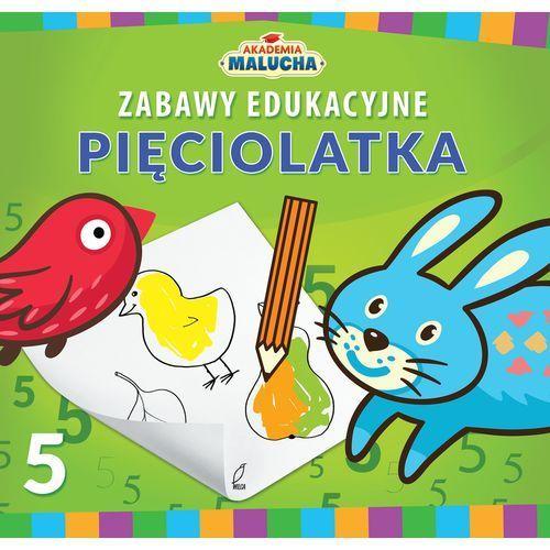 Książki dla dzieci, Akademia Malucha. Zabawy edukacyjne pięciolatka (opr. miękka)