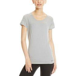 koszulka BENCH - Mesh Panel Tee Mid Grey Marl (GY008X) rozmiar: S