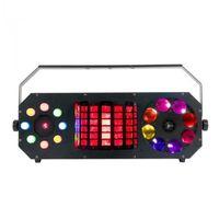 Zestawy i sprzęt DJ, American DJ BOOM BOX FX2 efekt świetlny LED DMX 4 w 1 - gobo, flower, laser, wash/chase B-Stock Płacąc przelewem przesyłka gratis!