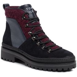 Trapery TOMMY HILFIGER - Cosy Outdoor Bottie FW0FW04349 Midnight CKI