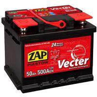 Akumulatory samochodowe, Akumulator ZAP Vecter 50Ah 500A PRAWY PLUS