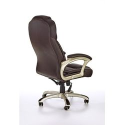 Fotel gabinetowy halmar DESMOND ciemnobrązowy