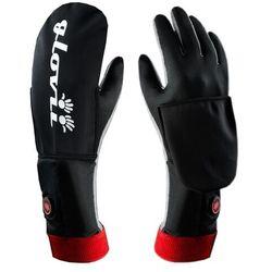 Ogrzewane rękawiczki uniwersalne Glovii z wodoodporną osłoną GYB-L-XL