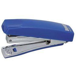 Zszywacz ICO Boxer Mini, zszywa do 10 kartek, zintegrowany rozszywacz, niebieski