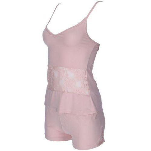 Piżamy damskie, Damska bambusowa piżama SOFIA XL Łososiowy