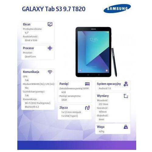 Tablety, Samsung Galaxy Tab S3 9.7 T820