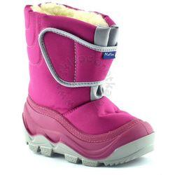 Śniegowce dla dzieci marki Renbut / Muflon 22-388 - Fuksja