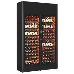 Chłodziarka do wina | do 180 butelek | 5°C-20°C do regulacji