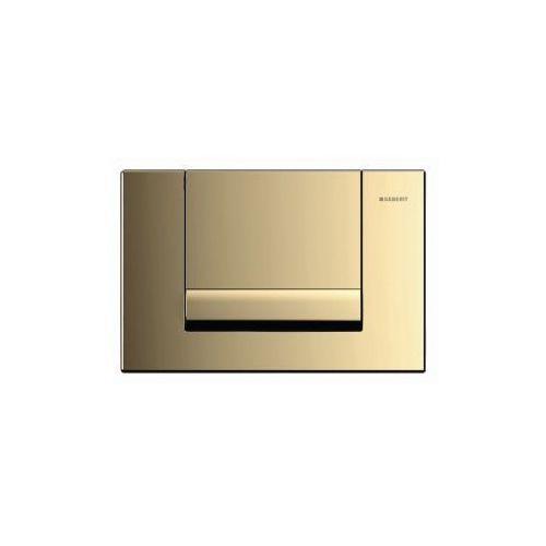 Przycisk uruchamiający Geberit przedni Tango złoto do spłuczek podtynkowych UP300 kod 115.760.45.1, 115.760.45.1