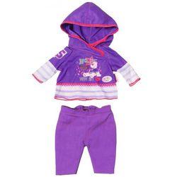 Ubranko dla lalek Baby born Casuals fioletowy