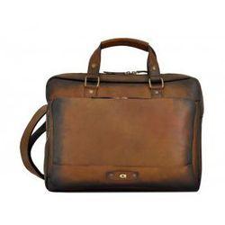 ALIVE 23 torba skóra naturalna firmy Daag na ramię z miejscem na notebook unisex