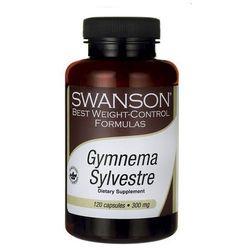 Swanson Gymnema Sylvestre standaryzowana 300mg 120 kaps.