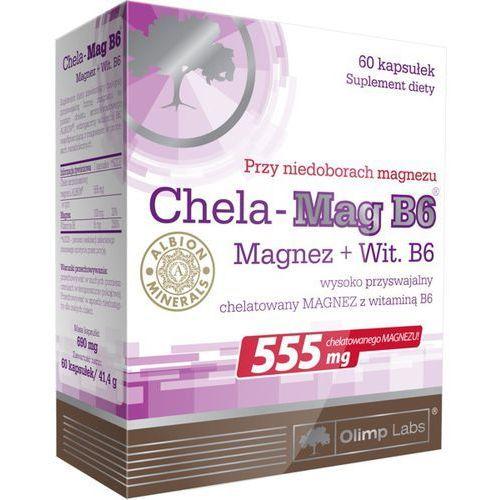 Witaminy i minerały, Chela-Mag B6 kaps.x 60 /Olimp