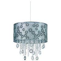 Lampy sufitowe, Lampa wisząca Nowodvorski Calabria I 4018 zwis 1x60W E27 srebrna