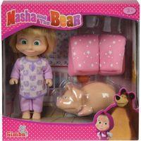 Pozostałe zabawki, Masza i Niedźwiedź - Masha a dobranoc ze świnką