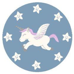 Dywan Agnella Soft Unicorn Pink/Róż (koło) 100x100