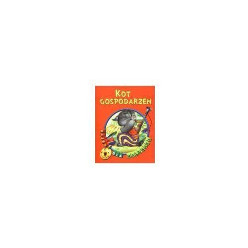 Książki dla dzieci, Bajka dla maluszka - kot gospodarzem (opr. broszurowa)