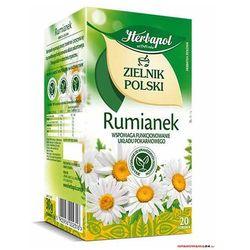 Herbata HERBAPOL ZIELNIK RUMIANEK 20t
