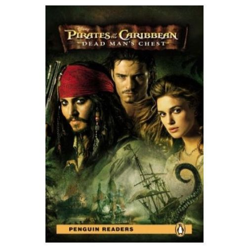 Książki do nauki języka, Pirates of the Caribbean: Dead Man's Chest + MP3. Penguin Readers (opr. twarda)